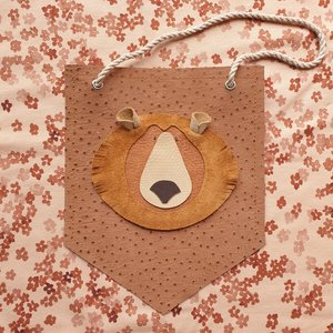 Atelier Ovive Wall Deco Grizzly Bear: Dark Dots