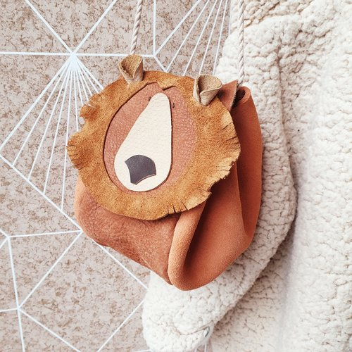 Atelier Ovive Grizzly Bear Bag: Rust/ Peach