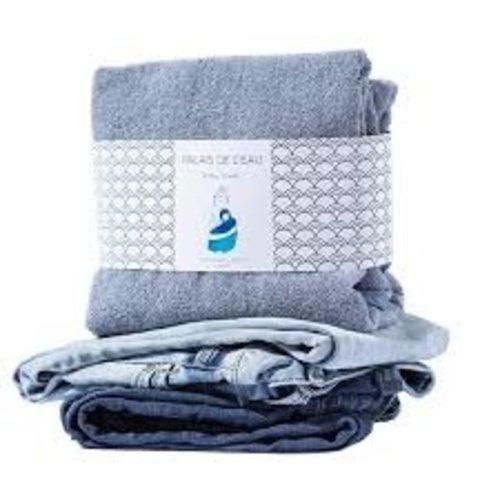 Palais de L'eau Baby Towel Recycled Denim