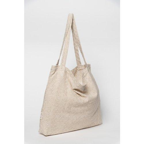 Studio Noos Mom bag, flora ecru