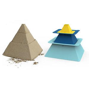 Quut Quut pira, piramide bouwer