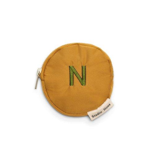 Studio Noos Ocre  puffy wallet