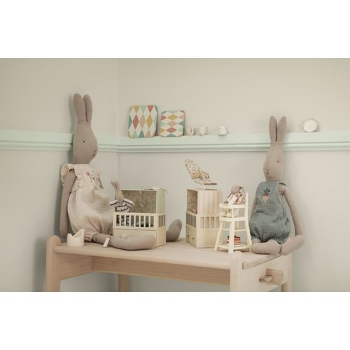 Maileg  Kinderstoel for micro off white