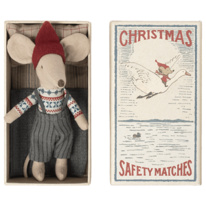 Maileg  Christmas mouse in mathbox, Big brother