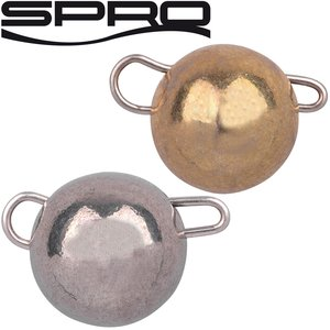 SPRO Freestyle Tungsten Bottom Jigs Natural/Gold