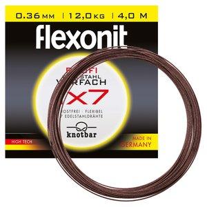 FLEXONIT Flexonit Stahlvorfach 1x7 - 4m