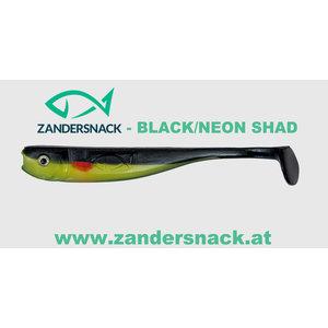 ZANDERSNACK Zandersnack 11cm Black/Neon Shad