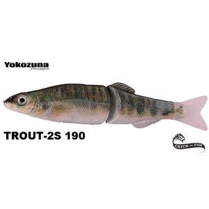 YOKOZUNA Trout-2S Barsch-Natur 190mm