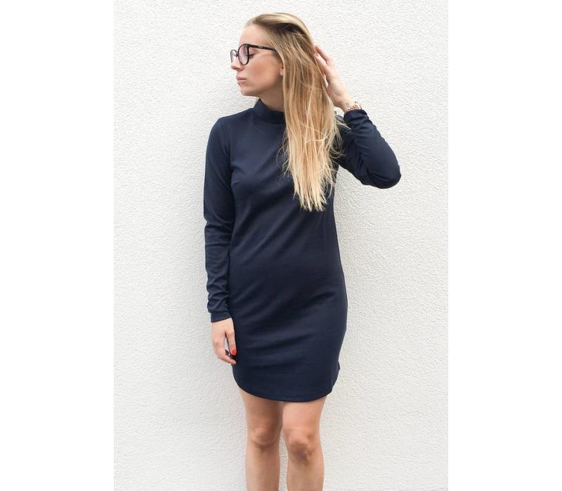 LISA DRESS NAVY BLUE