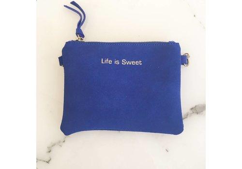 DAIN BAG - BLUE - LIFE IS SWEET