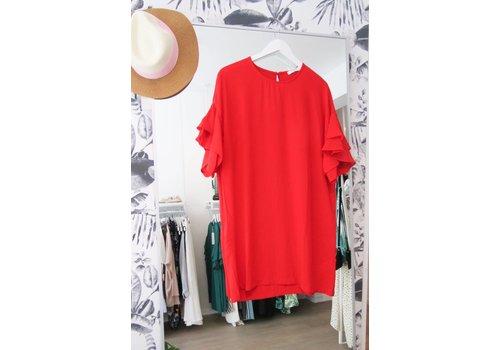 STEPH DRESS - RED