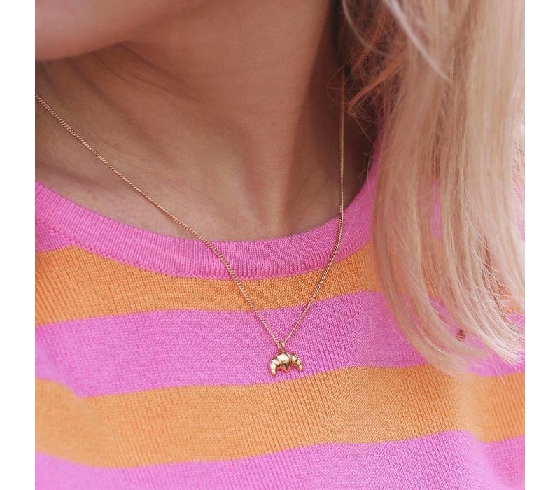 CROISSANT GOLD NECKLACE