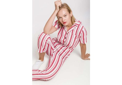 FREDDIE JUMPSUIT - RED - ONE SIZE