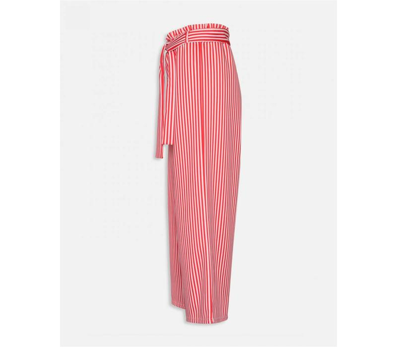 RED NOTO PANTS