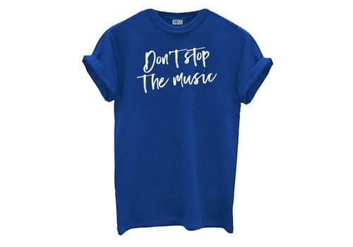 BLUE DON'T STOP THE MUSIC