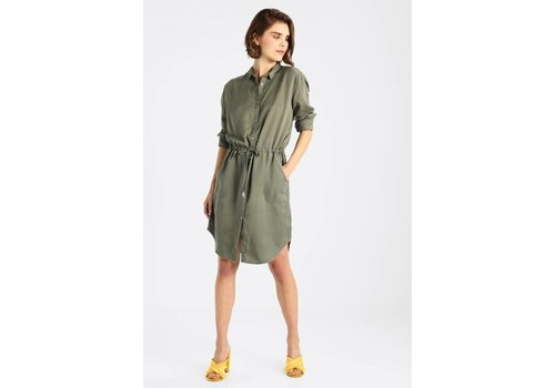 ISALLA GREEN DRESS
