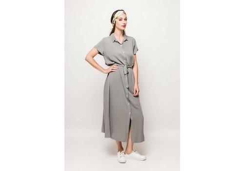 CLAUDINE DRESS _ GREY _ one size