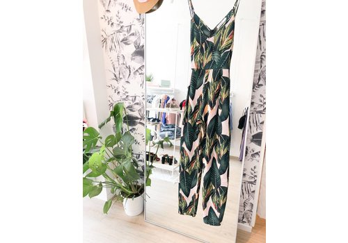 BOTANICAL JUMPSUIT