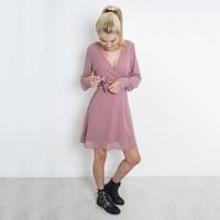 SOFT PINK GERDO DRESS