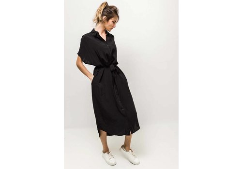 MILA DRESS - BLACK - one size