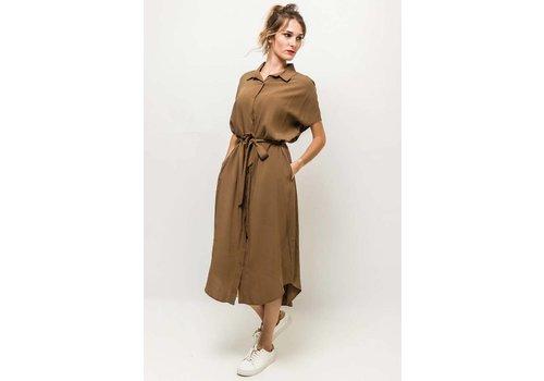 MILA DRESS - CAMEL - one size
