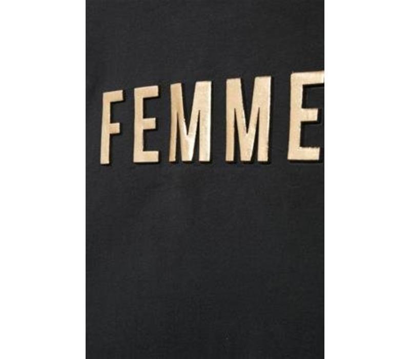 FEMME SHIRTSWEATER