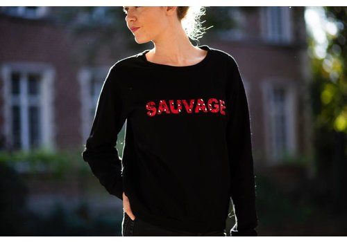 BLACK SAUVAGE SWEATER