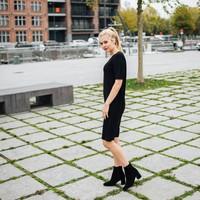 BLACK HELENA DRESS