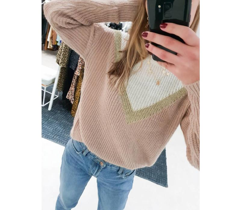 MARIE PINK KNIT