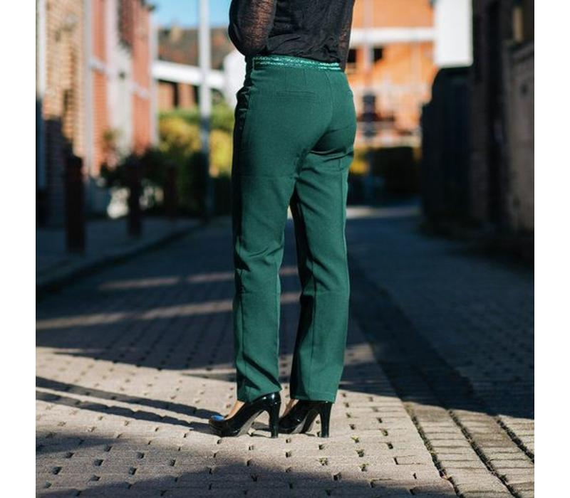 GREEN ANNABELLE PANTS