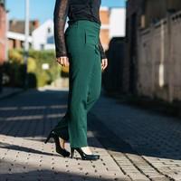 GREEN ANNABELLE PANTS