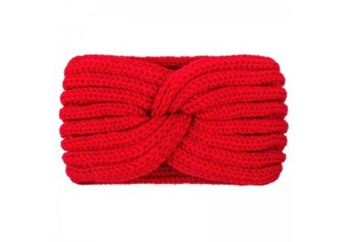 yehwang HEADBAND WINTER KNOT - RED