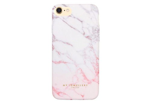 MY JEWELLERY WHITE HARDCASE MARBLE 6/7/8