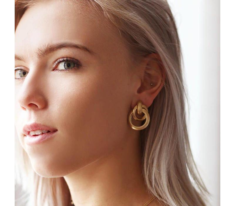 MIXED HOOP EARRINGS