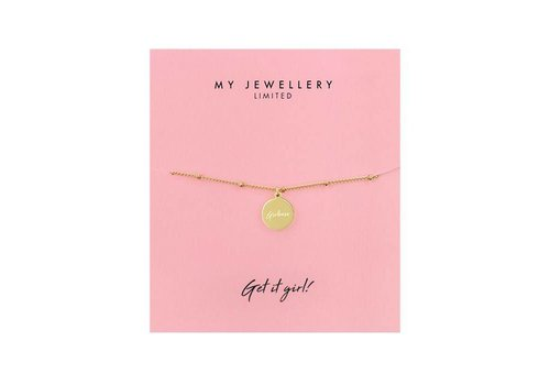 MY JEWELLERY BRACELET GIRLBOSS GOLD
