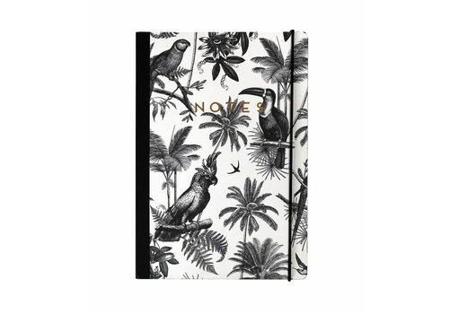 PORTICO PARADISE B&W NOTEBOOK