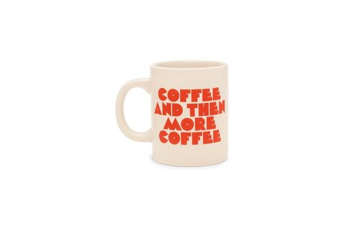 HOT STUFF CERAMIC MUG - MORE COFFEE PLEASE