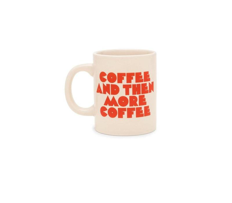 HOT STUFF CERAMIC MUG - MORE COFFEE PLEASE