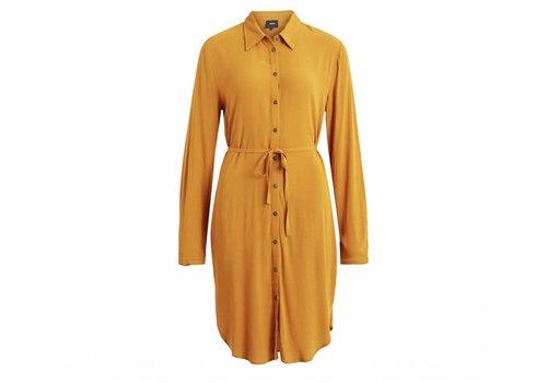 SHIRT DRESS buckthorn