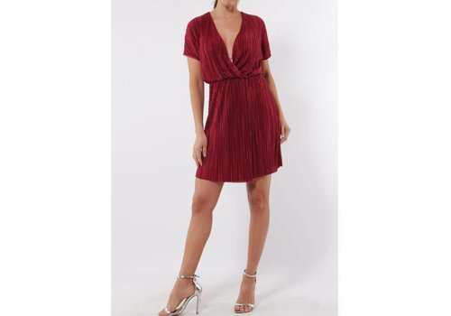 RASPBERRY RED DRESS