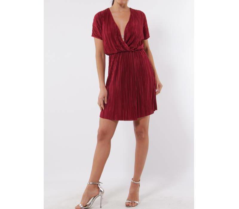 RASPBERRY RED DRESS