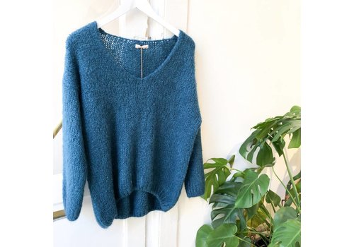 CARRIE PETROL KNIT