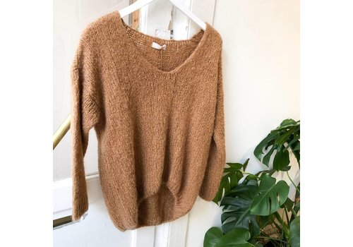 CAMEL CARRIE KNIT