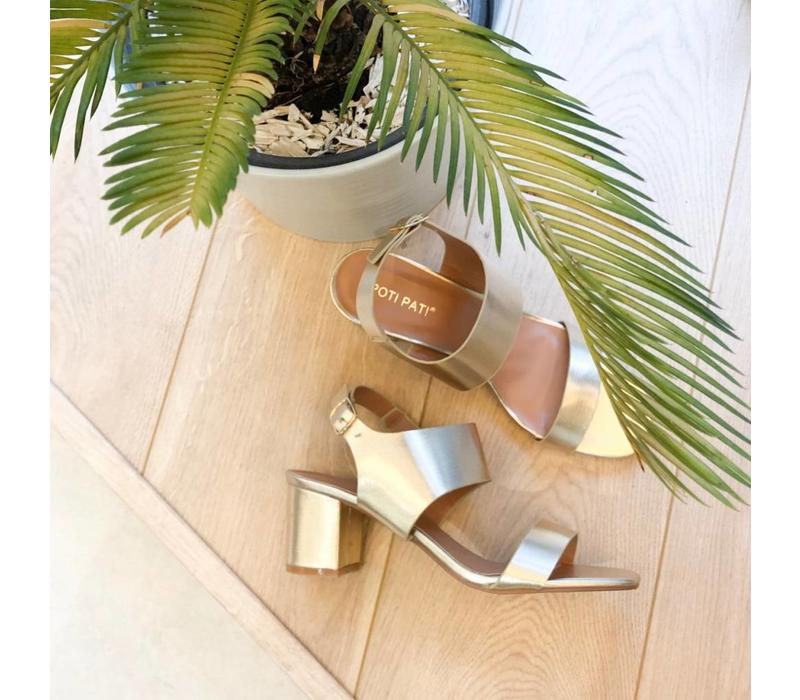 SOLID GOLD -SOFIE SANDALS