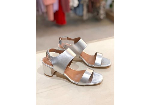 SILVER-SOFIE SANDALS