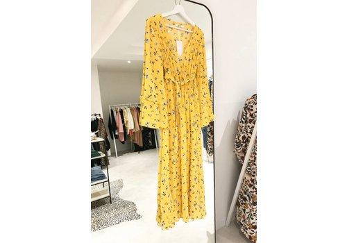 YELLOW ANKE DRESS