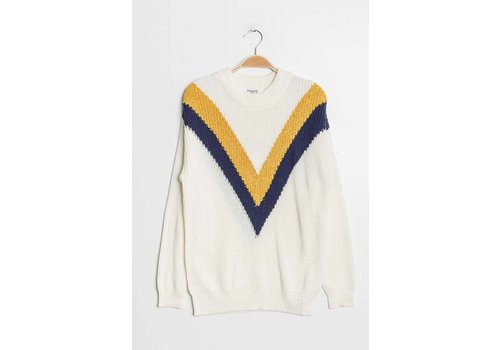 LAURIE WHITE KNIT