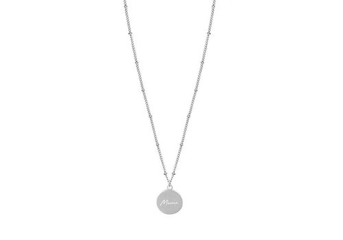 MY JEWELLERY MAMA NECKLACE SILVER