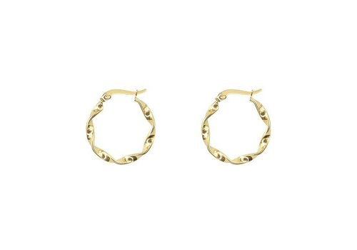 MY JEWELLERY EARRING WOKKEL GOLD