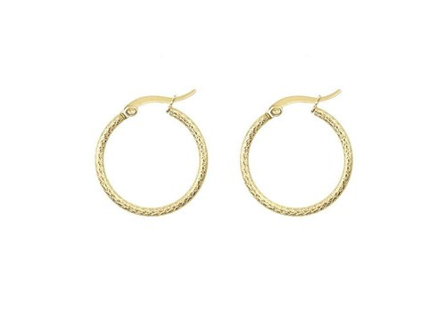 MY JEWELLERY EARRINGS RUIT SMALL GOLD